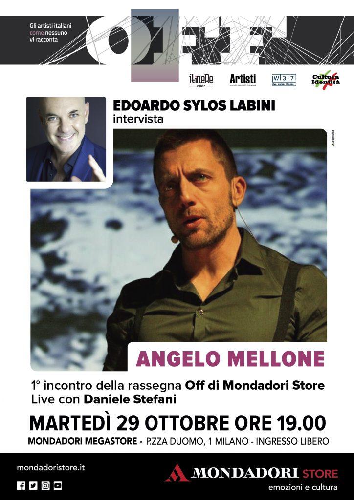Al Mondadori OFF Sylos Labini intervista Angelo Mellone