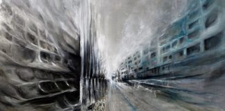 Quando si parla di Architetture Liquide ci si riferisce alla pittura di Silvia Senna, pittrice dotata di una grande sensibilità espressiva