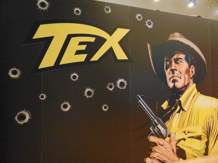 Tex, storia di un mito con la Colt