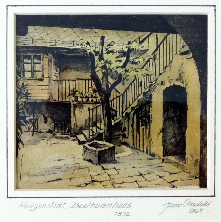 Casa di Beethoven a Heiligenstadt, 1965